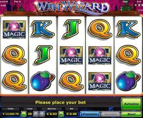 Automat WinWizard Online Zdarma