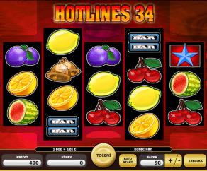 Automat HotLines34 Online Zdarma
