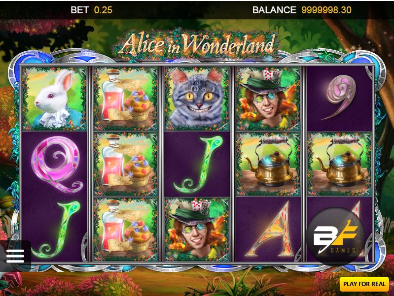 Alice in Wonderland BF