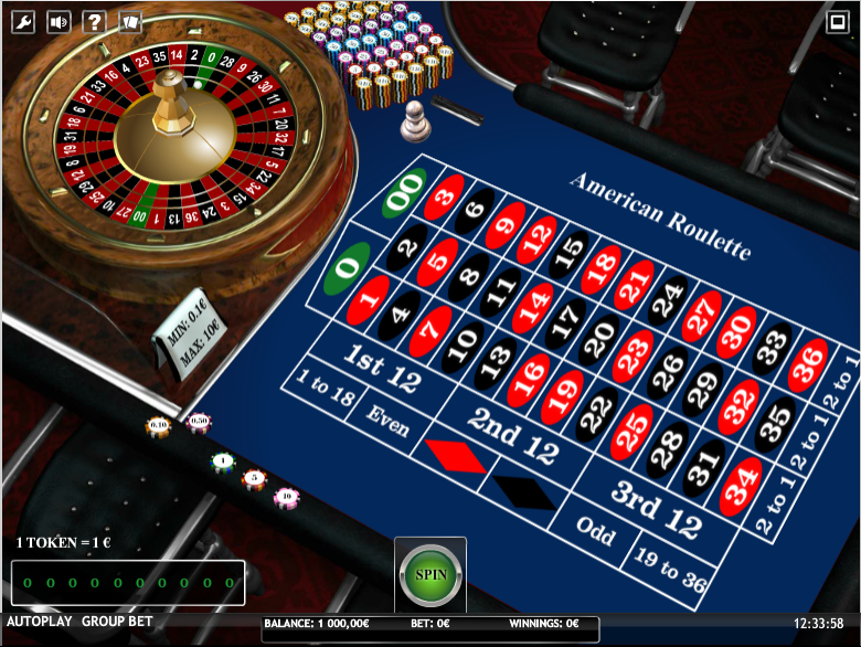 American Roulette iSoft
