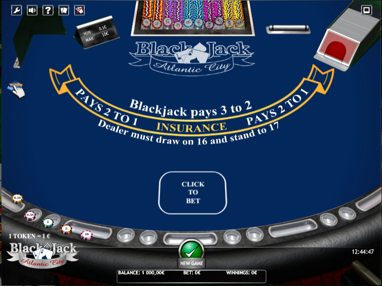 BlackJack Atlantic City iSoft