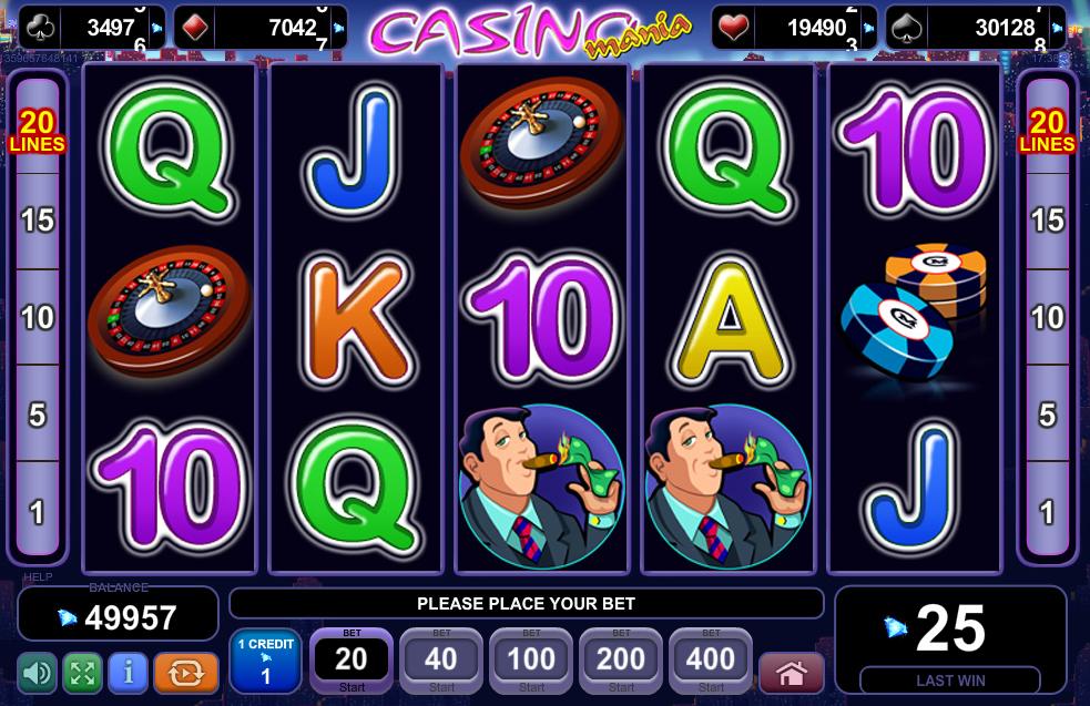Casino Mania EGT