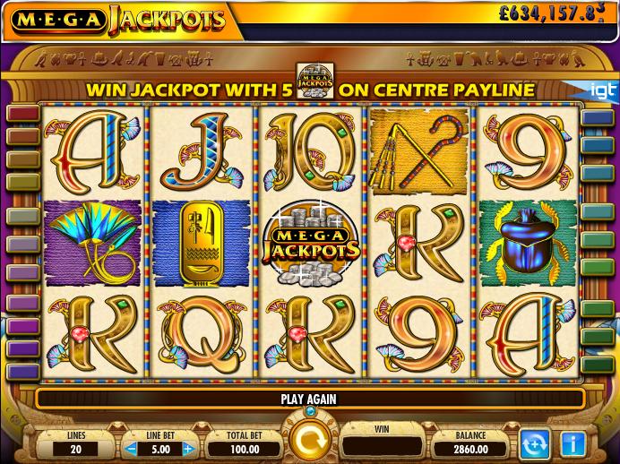 Cleopatra Megajackpot