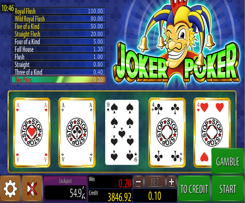 Joker Poker Wazdan