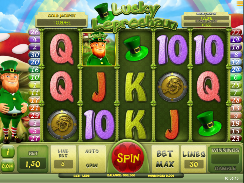 Lucky Leprechaun iSoft
