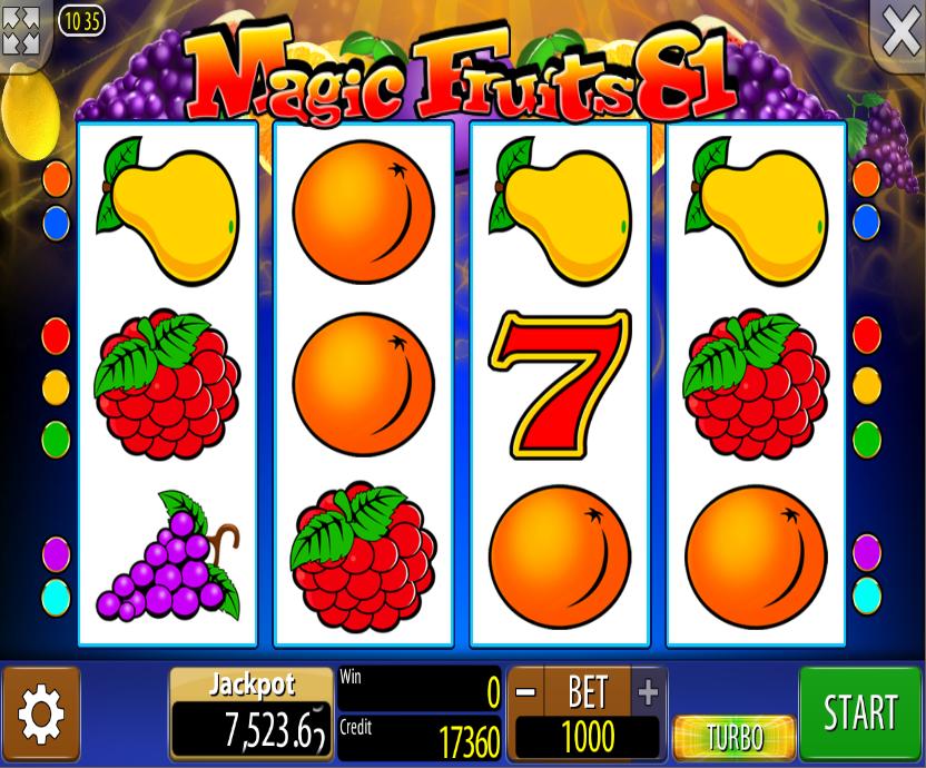 Magic Fruits 81