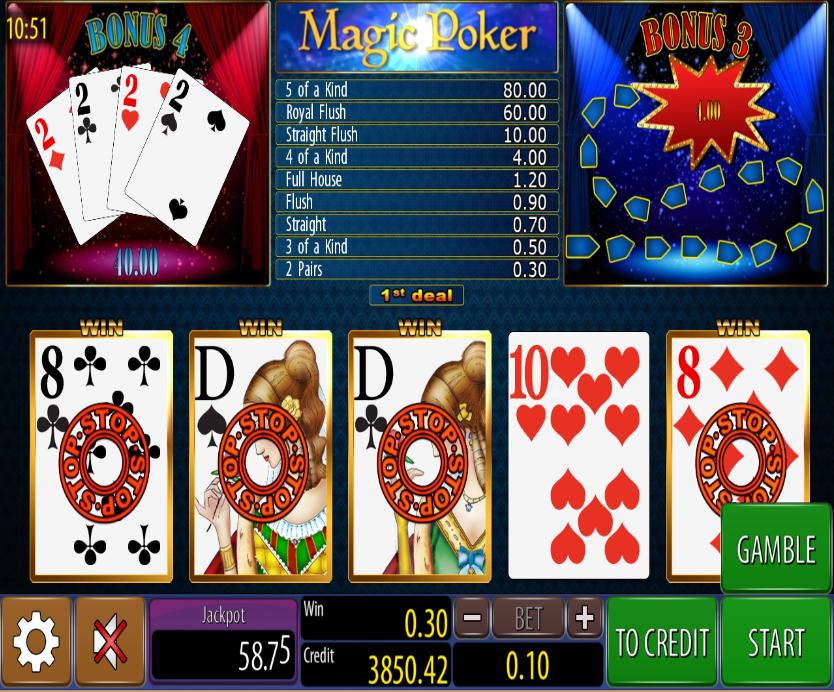 Magic Poker Wazdan
