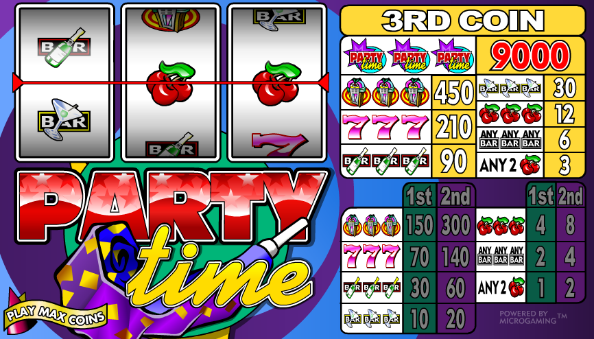 Party Time Microgaming