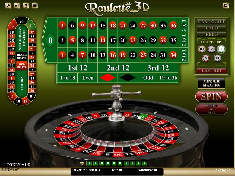 Roulette 3D iSoft