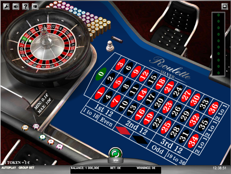 Roulette Silver iSoft