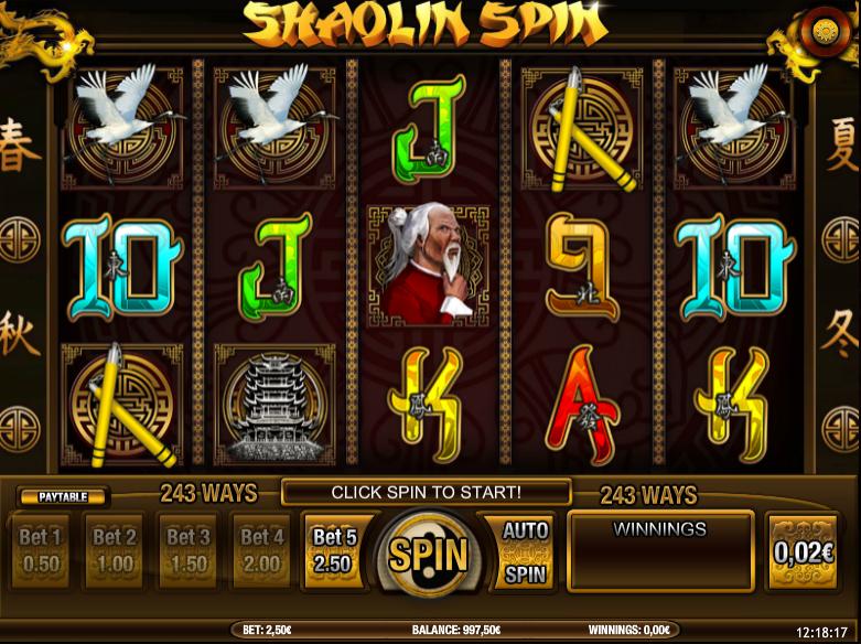 Shaolin Spin