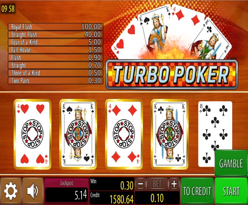 Turbo Poker Wazdan